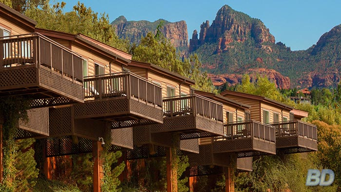 most romantic getaways in the US​